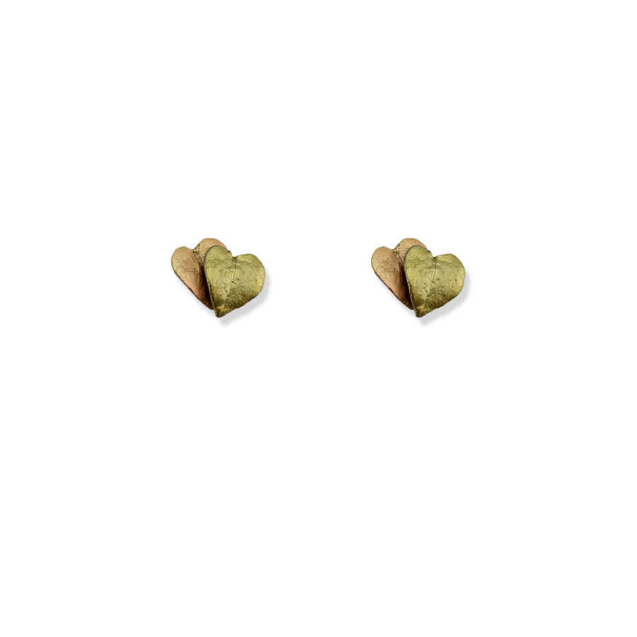 Michael Michaud - Sweet Potato Vine Post Earrings