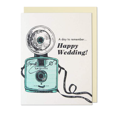 A Day To Remember Happy Wedding Greeting Card