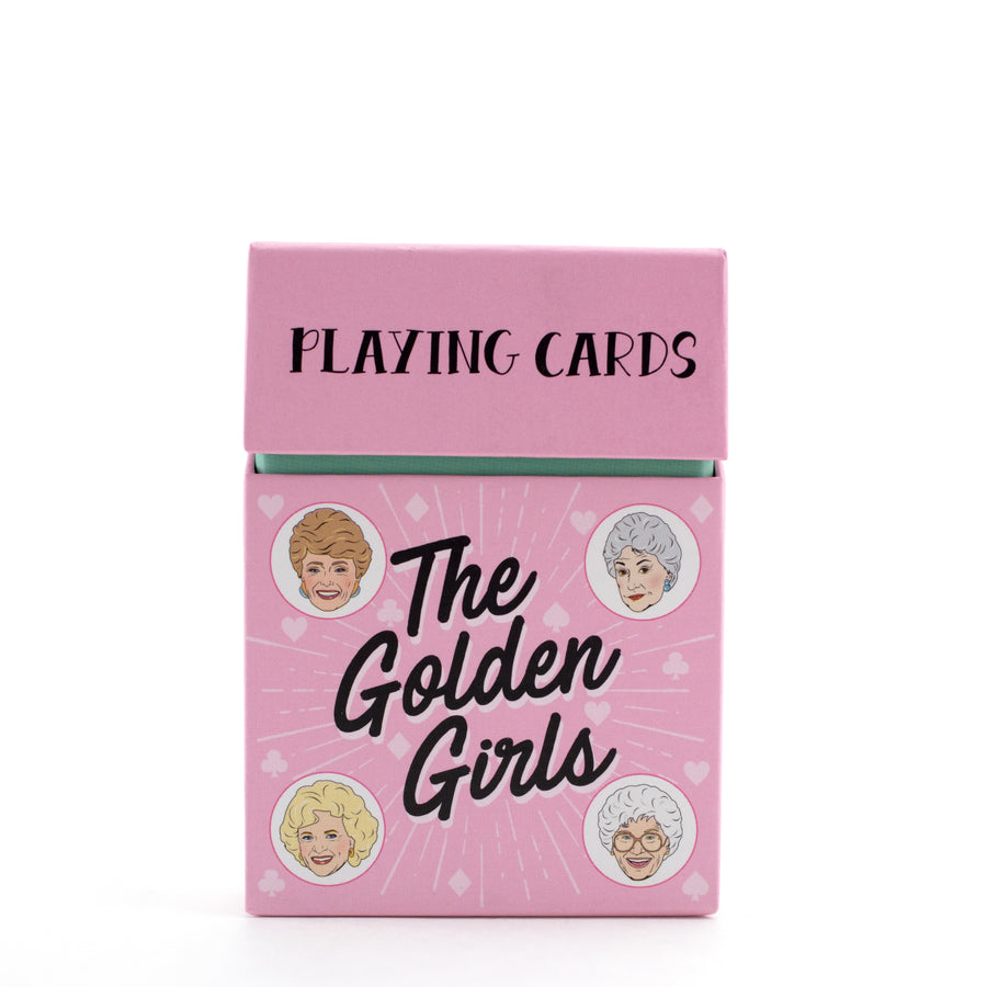 The Golden Girls Playing Cards