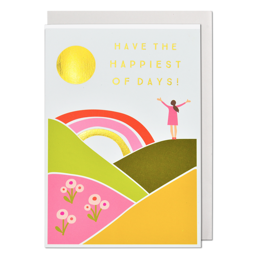 Have The Happiest Of Days Greeting Card