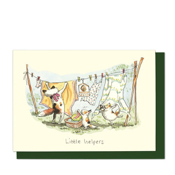 Little Helpers Greeting Card