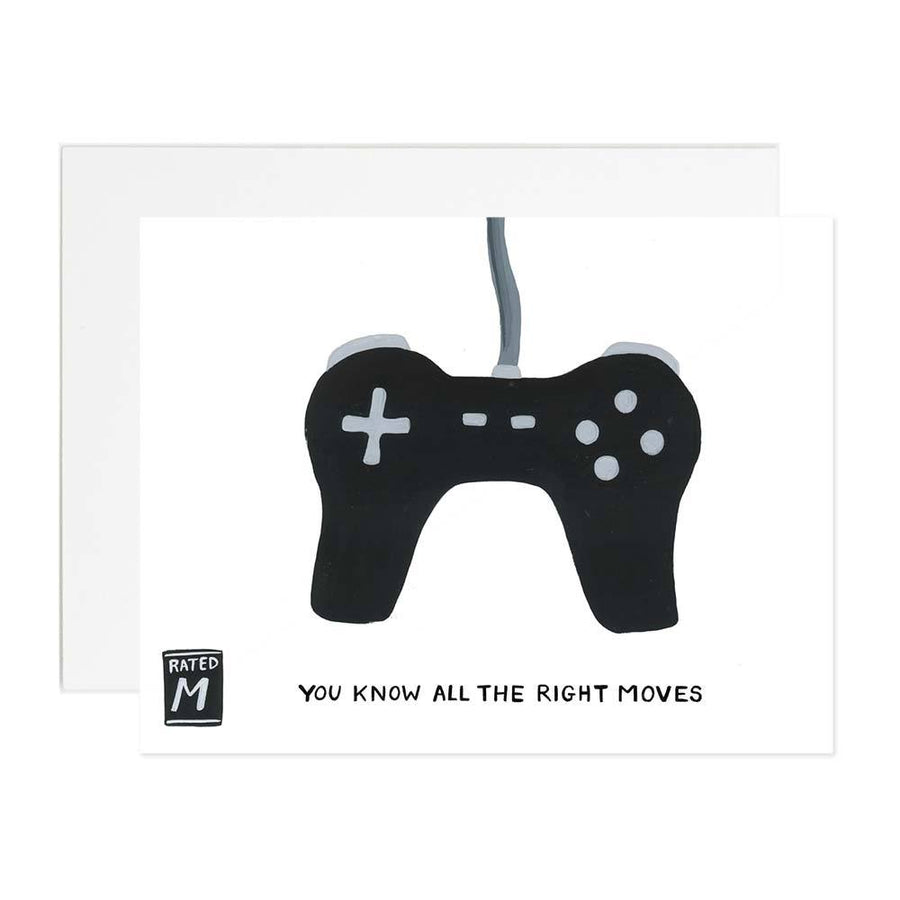 All The Right Moves Greeting Card