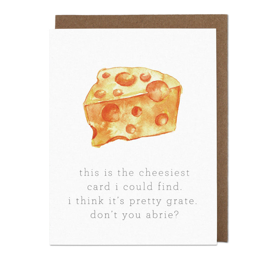 Cheese Greeting Card
