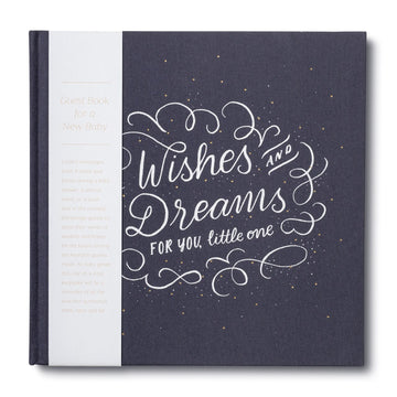Wishes & Dreams for You - Baby Guest Book