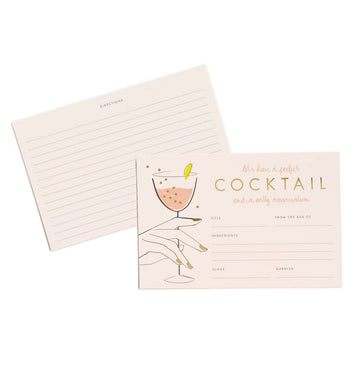 Garance Dore Cocktail Recipe Cards (Set of 12)