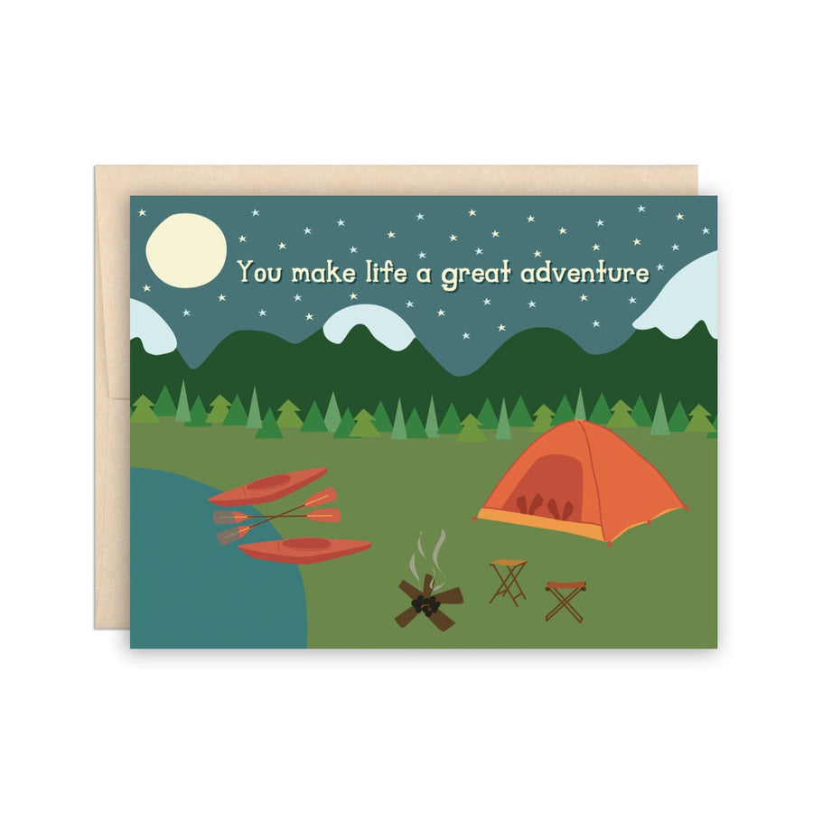 Camp Adventure Greeting Card