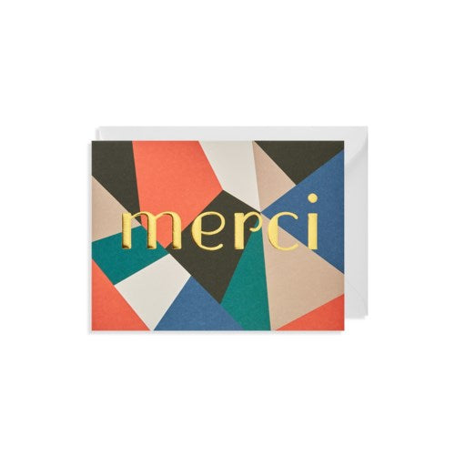 Merci Mini Greeting Card