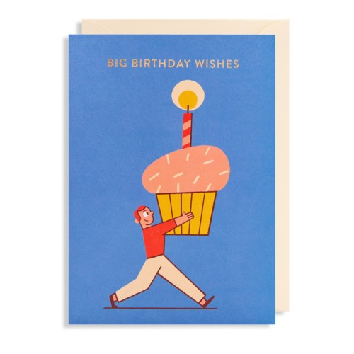 Big Birthday Wishes Greeting Card