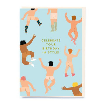 Celebrate your birthday in style Birthday Card