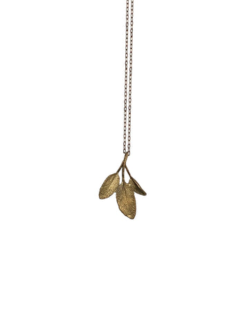 Michael Michaud - Petit Herb Sage Pendant Necklace