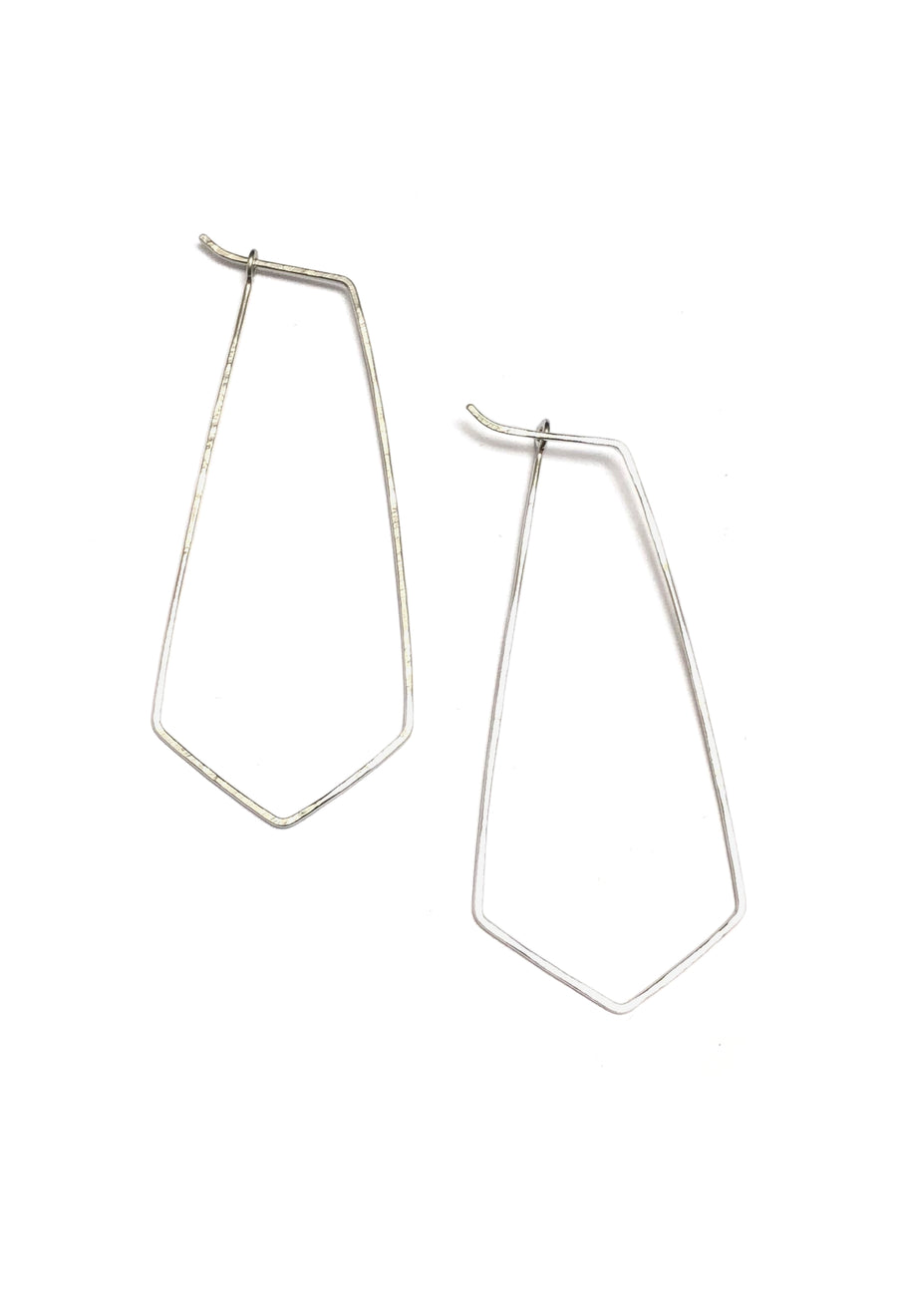 Fine & Good - Medium Tie Hoops