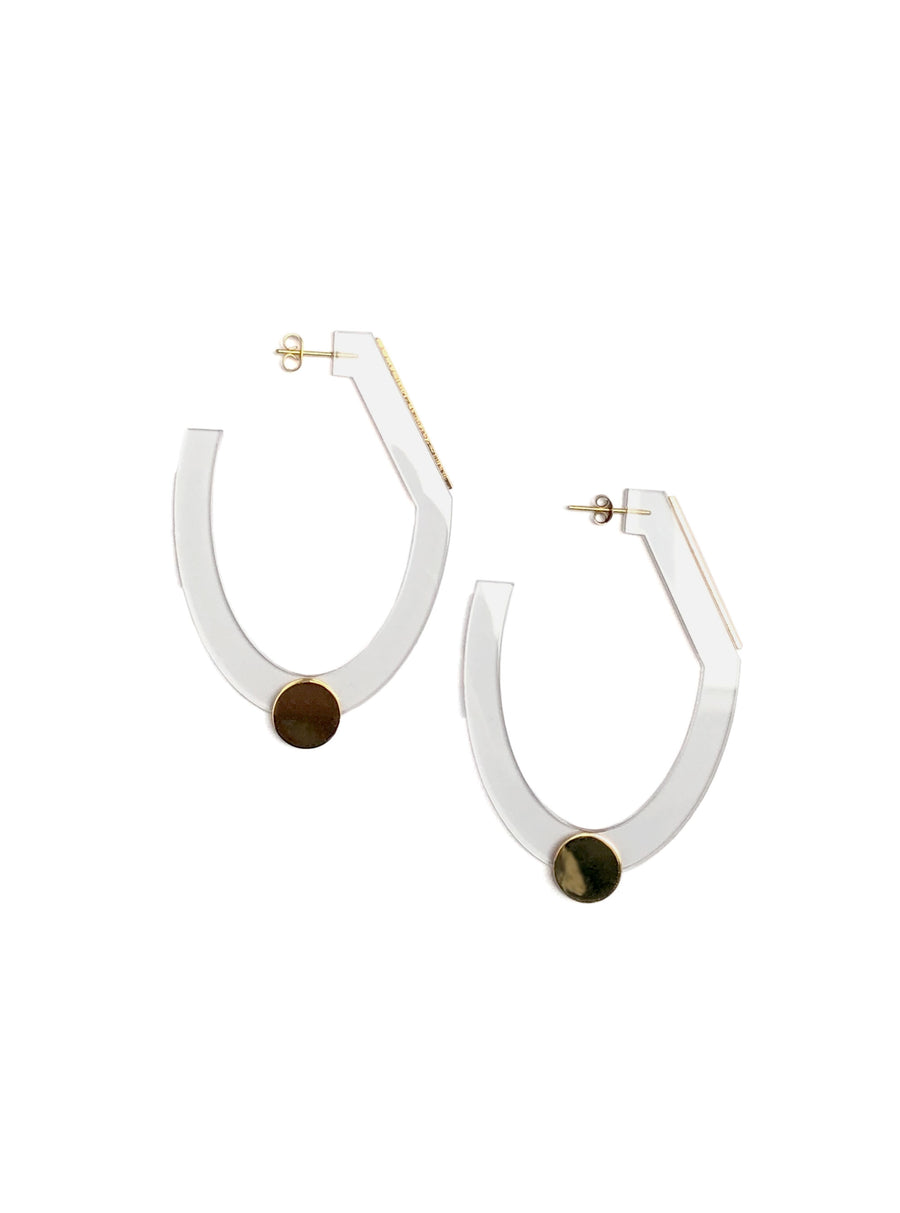 Helmut Paris - TOL Earrings in Clear