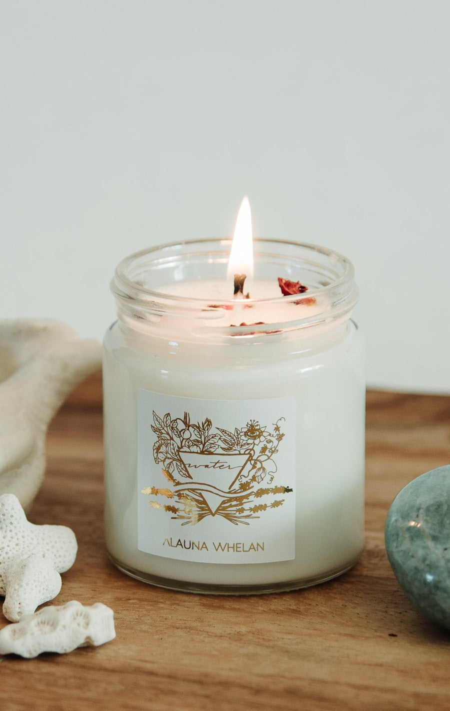 Alauna Whelan - Femininity Water Intention Candle