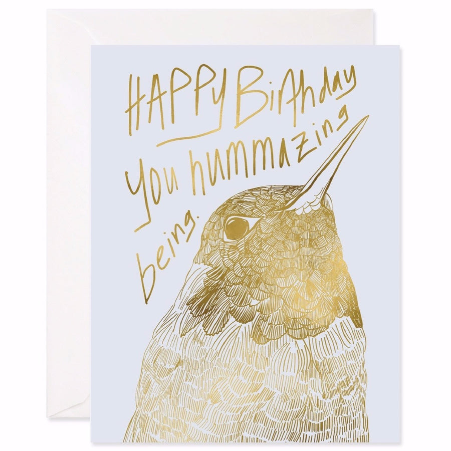 Hummazing Human Birthday Card