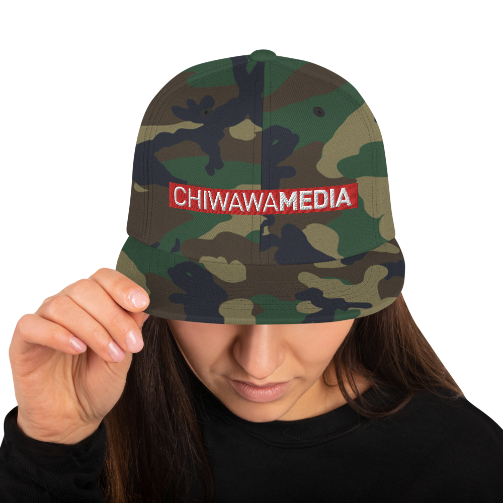 Snapback Hat | Chiwawa red edition