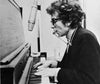 bob dylan playing piano harmonica live folk music