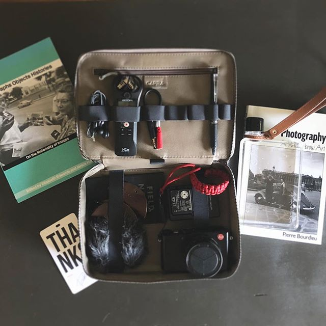 Capra Leather Customer Review of Gadget Bag from J. Jason