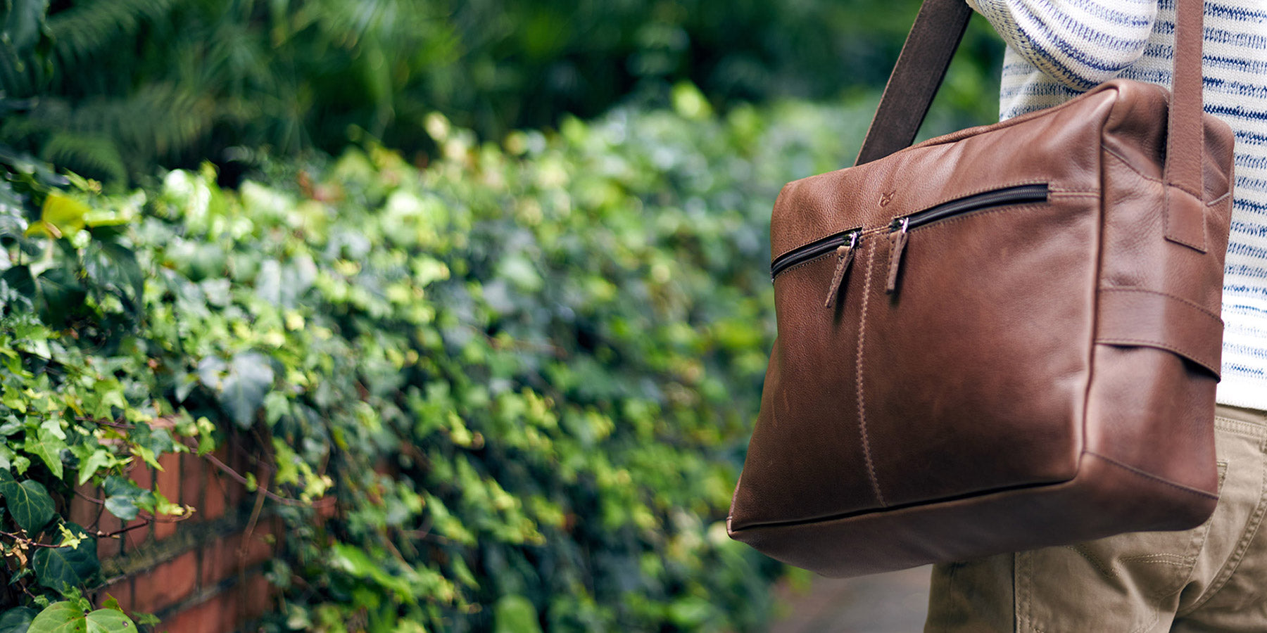 Capra leather bags