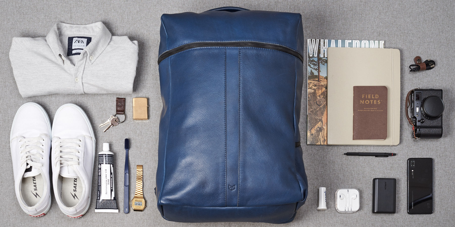 Capacity. Banteng Laptop Backpack by Capra Leather