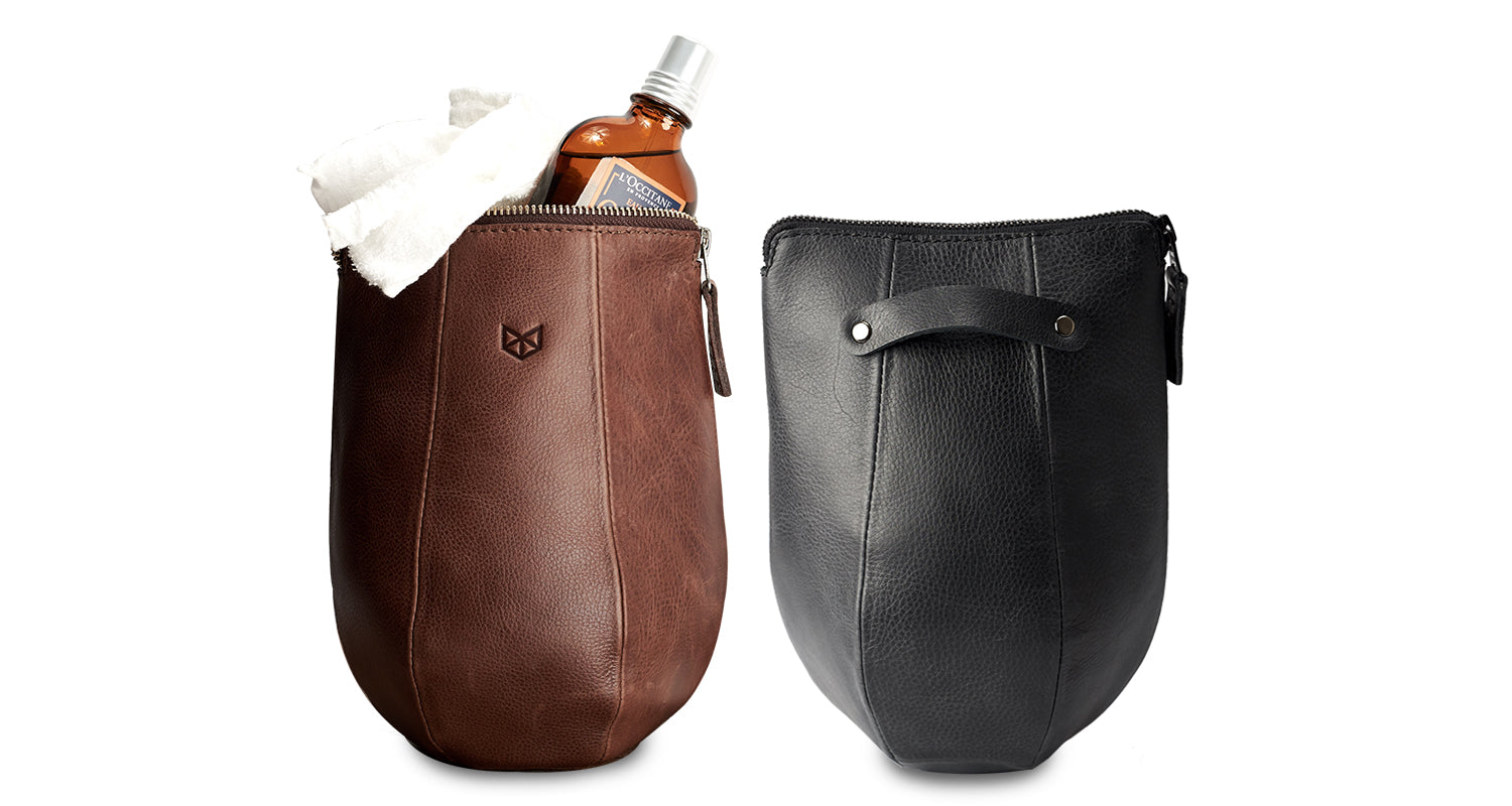 Boxer Dopp Kit by Capra Leather