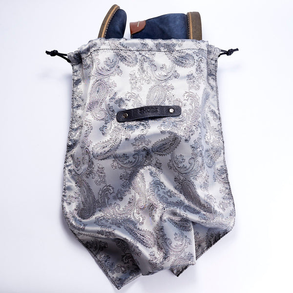 drawstring bag travel accessories handmade for men