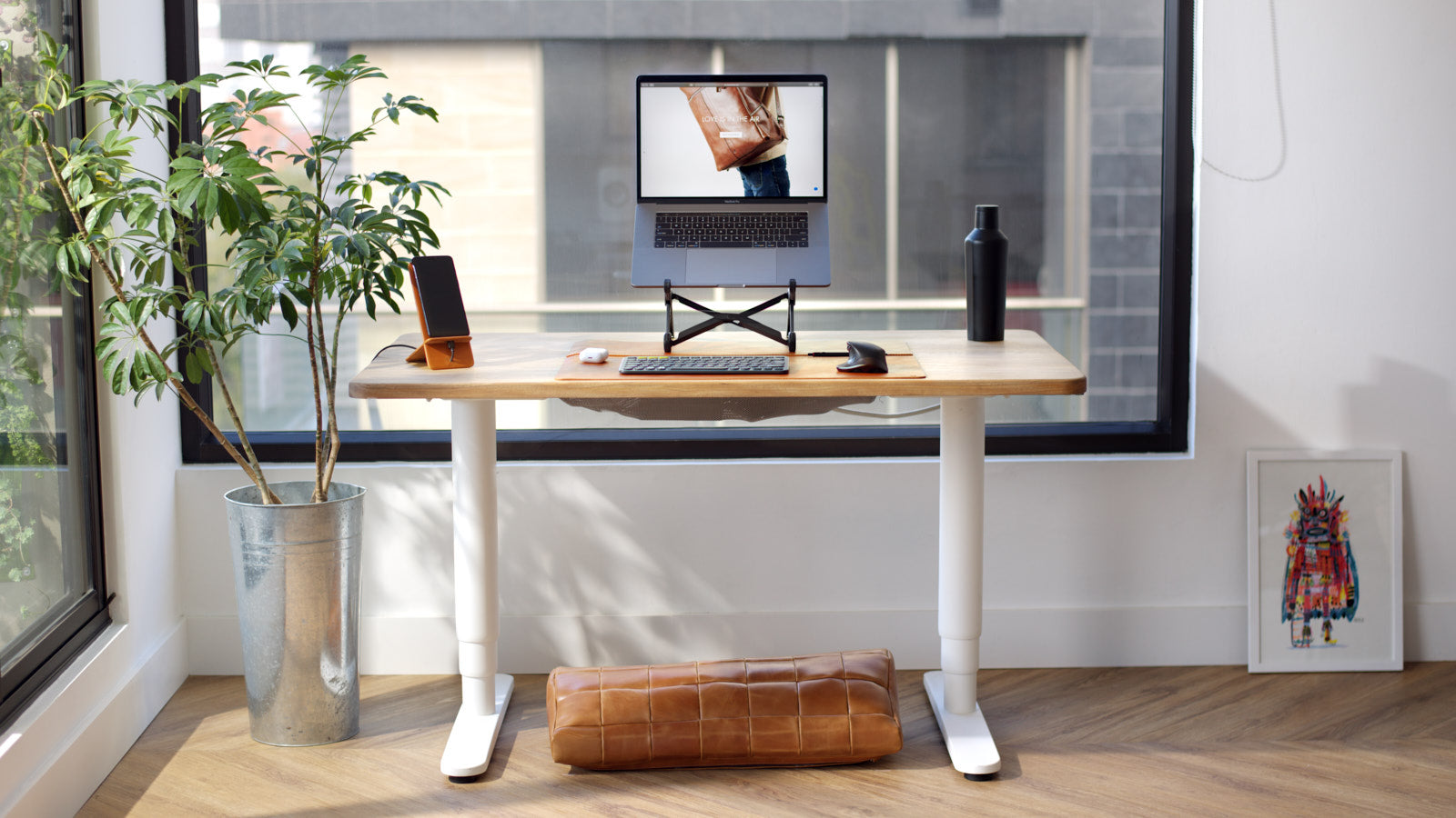 Desk Setup by Capra Leather