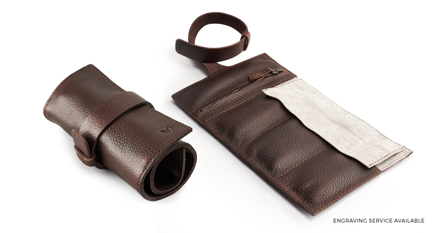 Watch Roll by Capra Leather