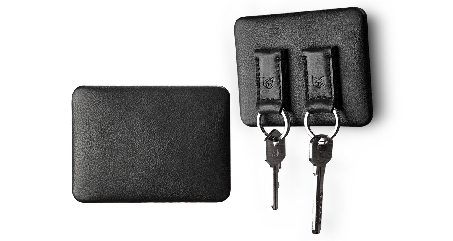 Leather Magnetic Key Holder