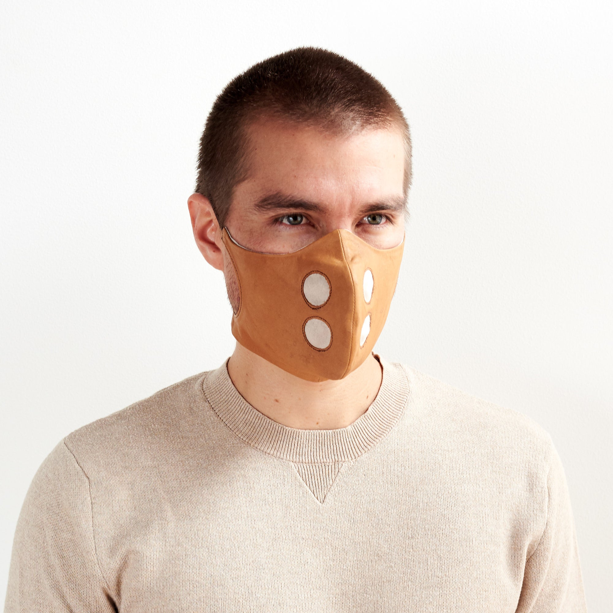 Leather Face Mask. Stay Safe