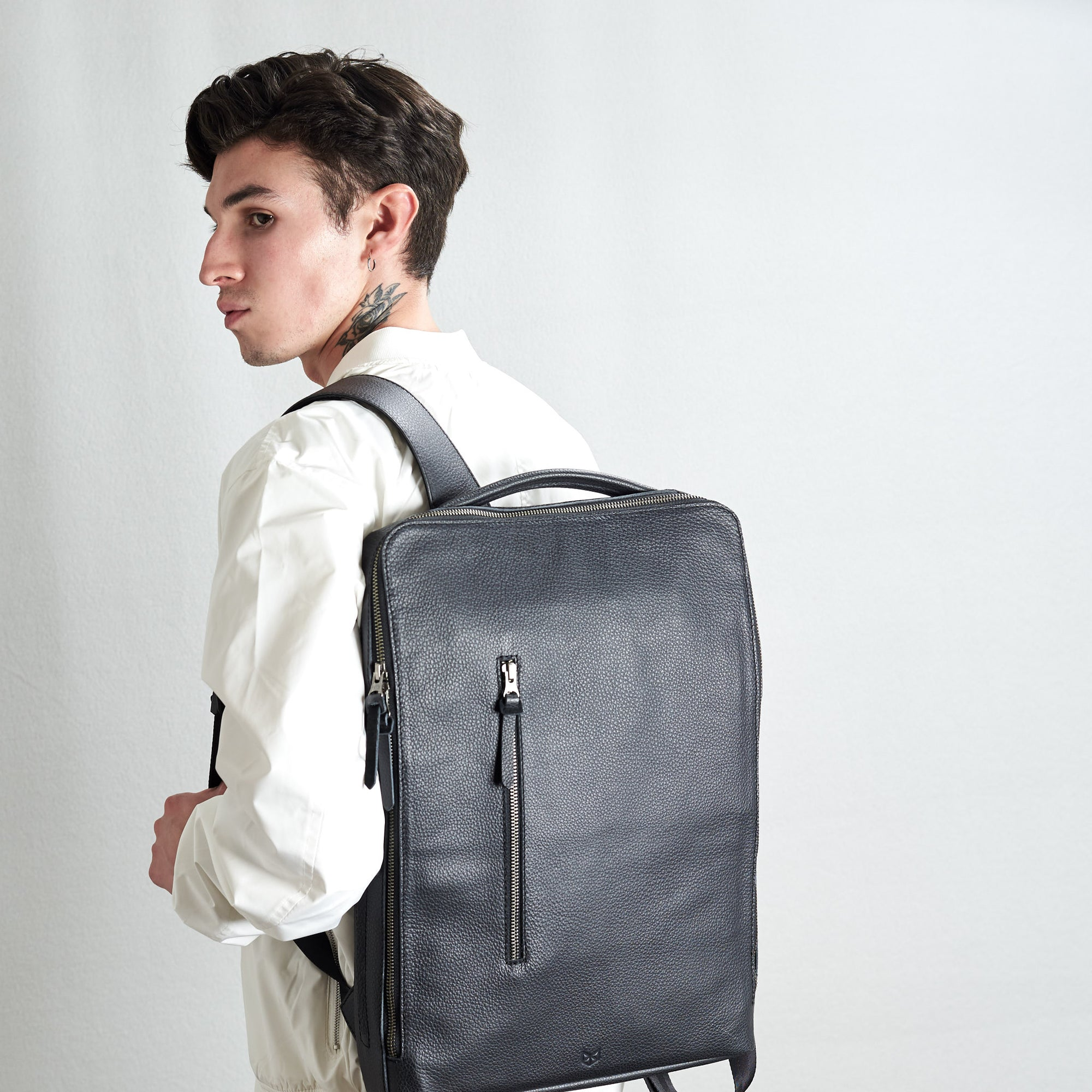 Saola Tech Laptop Backpack by Capra Leather