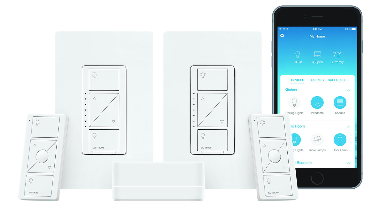 Wireless Smart Lighting by Lutron