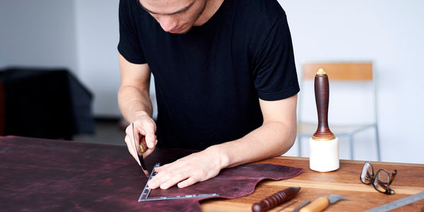 handmade leather goods gifts for men