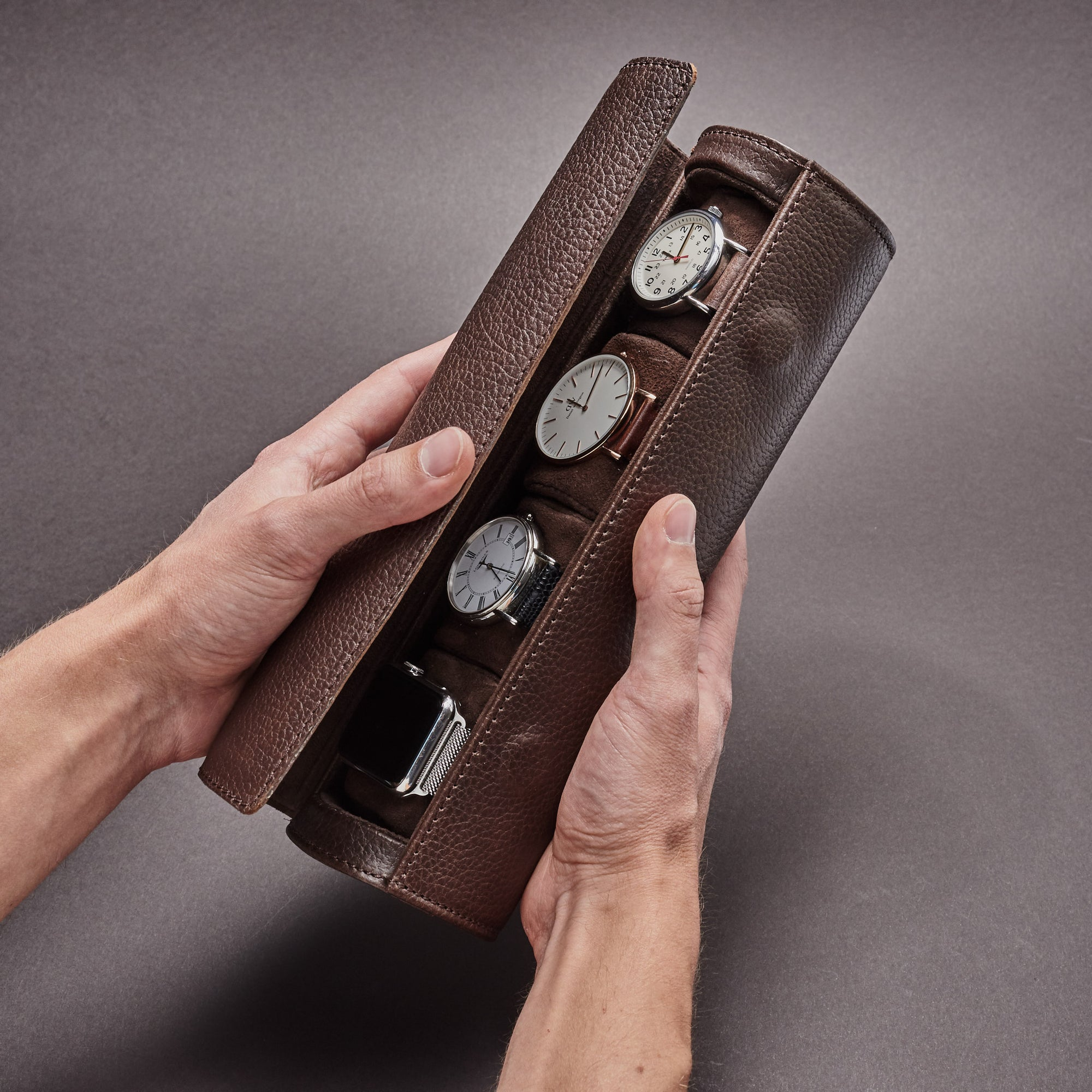 Watch Case by Capra Leather