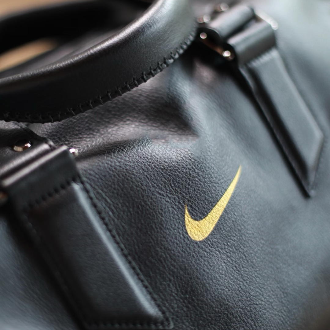 Nike bespoke design by Capra Leather gifting service