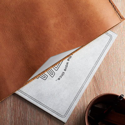 Style.  Basic Dell XPS laptop leather case