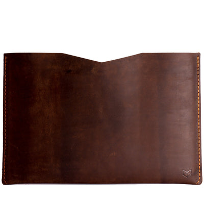 dark brown leather case macbook pro touch id