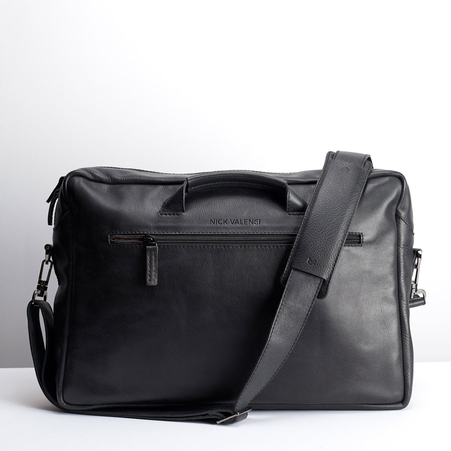 EQUZ MESSENGER BAG // BLACK