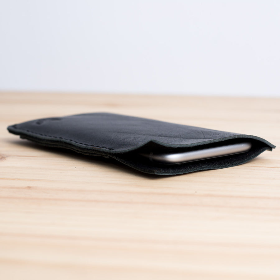 iPhone Wallet Case · Black & Yellow