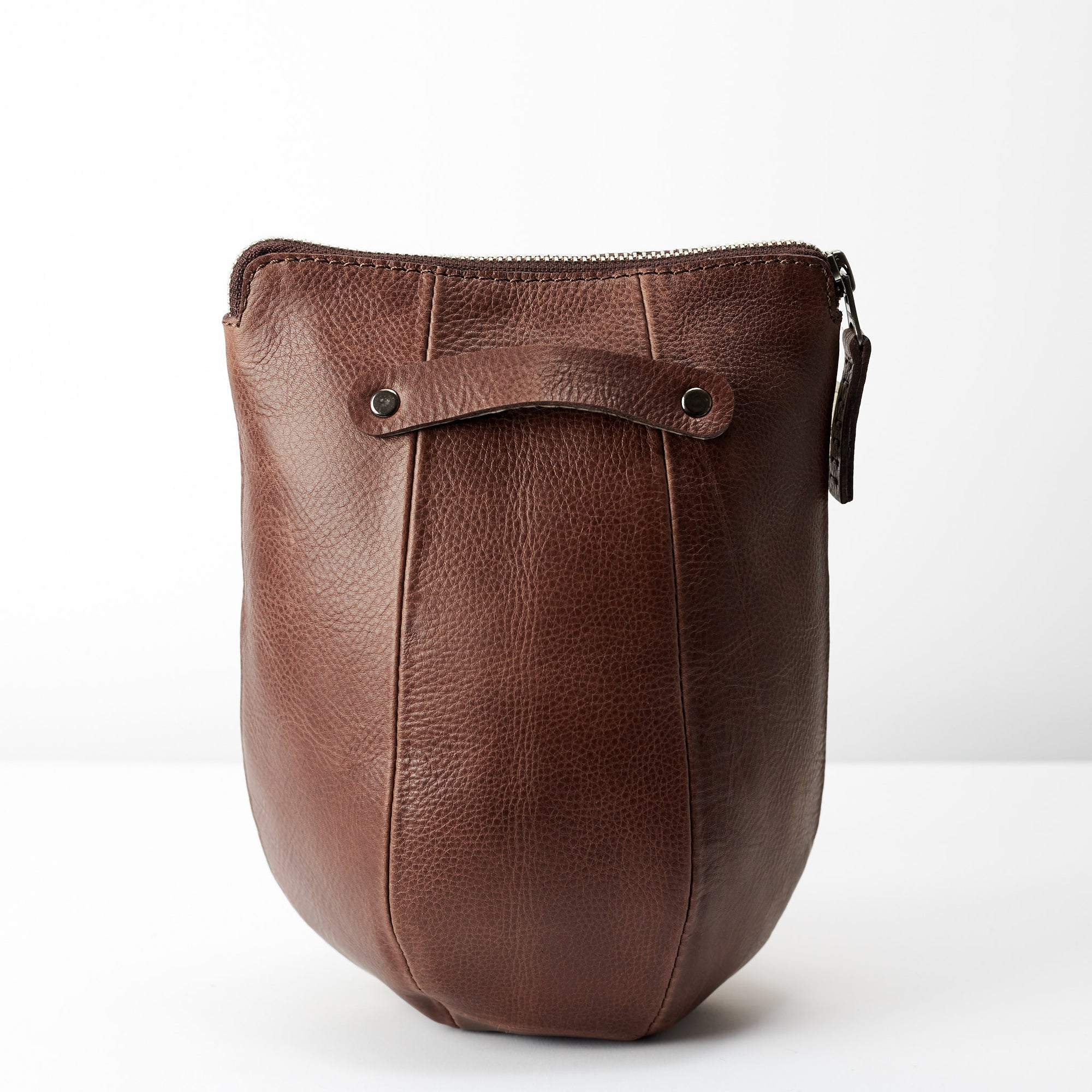 a1ad9a6be4 Handmade Men s Boxer Toiletry Dopp Kit · Brown by Capra Leather
