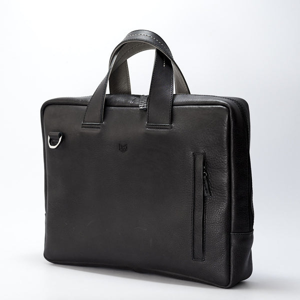 cool leather briefcase for men