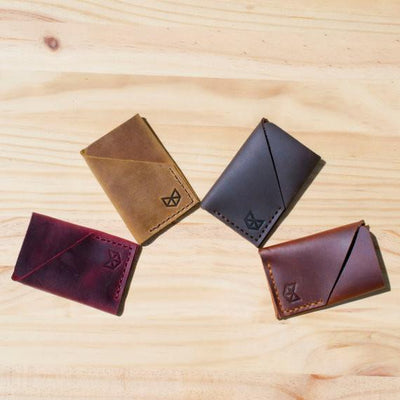 Slim Wallet. Leather Wallet, Men Wallet, Card Holder, Leather Card Holder. Custom monogrammed mens leather thin wallet