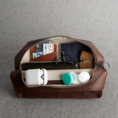 Linen Organization Interior. Leather Fanny Pack by Capra