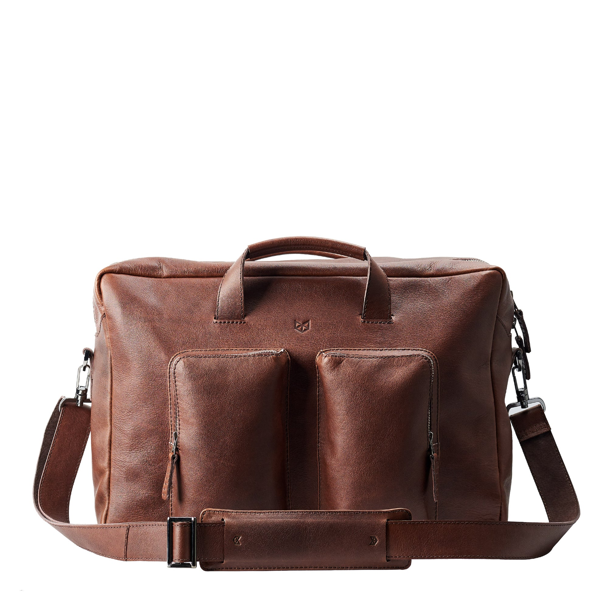 Equz Messenger Bag · Brown