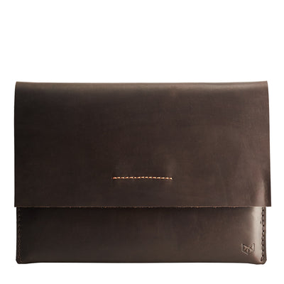 Cover. Leather ASUS Zenbook Pro Duo Sleeve brown Case by Capra Leather