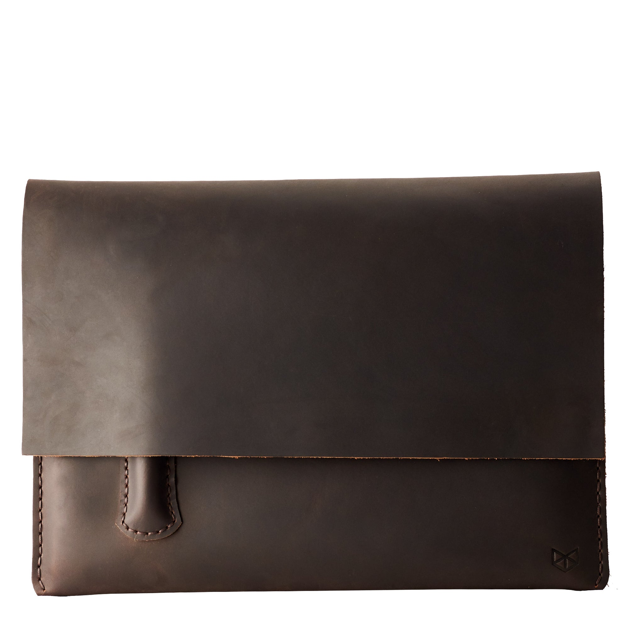 Google Pixelbook brown laptop sleeve with pencil holder