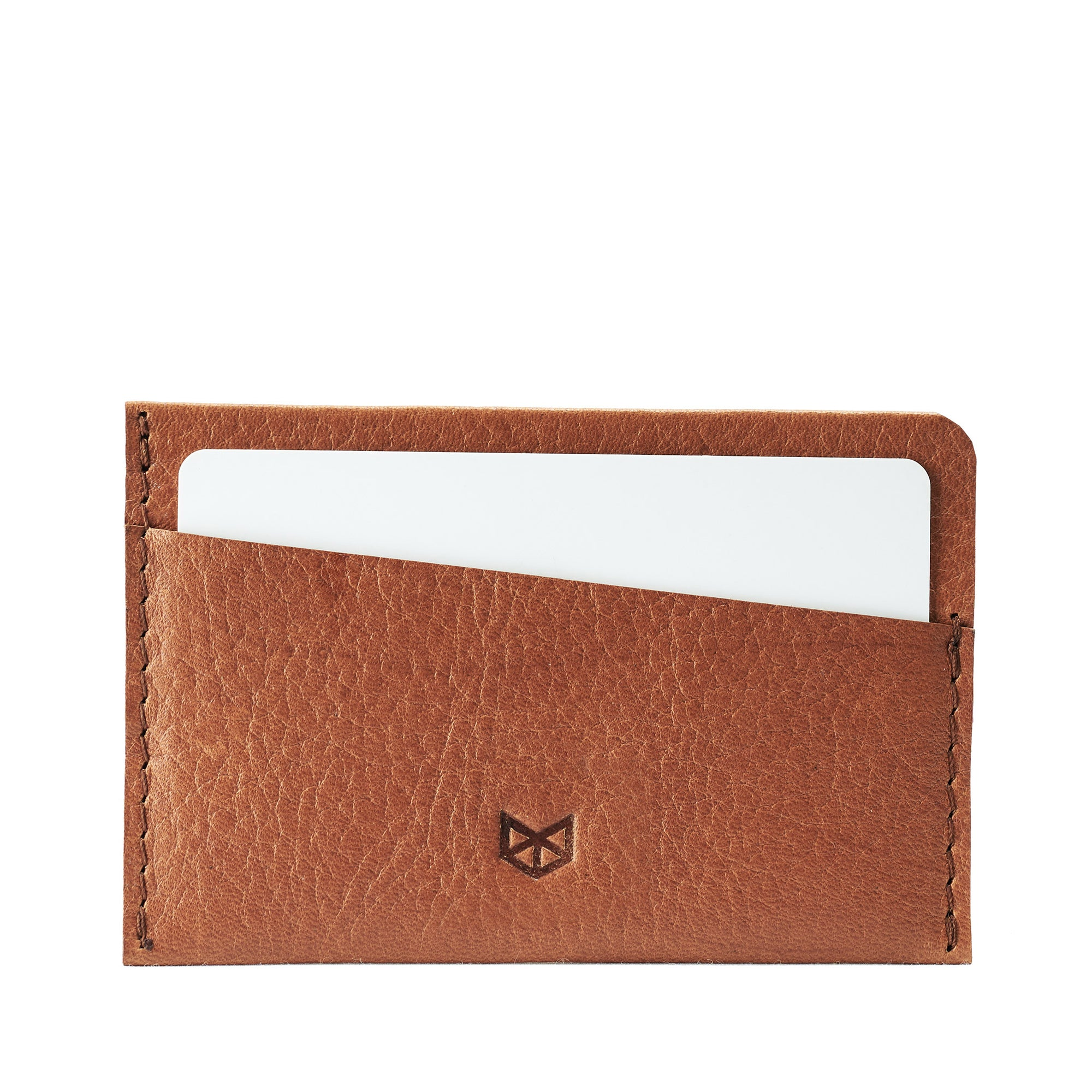 Light Brown card holder for men. Gifts for men, handmade accessories, minimalist designer cards wallet
