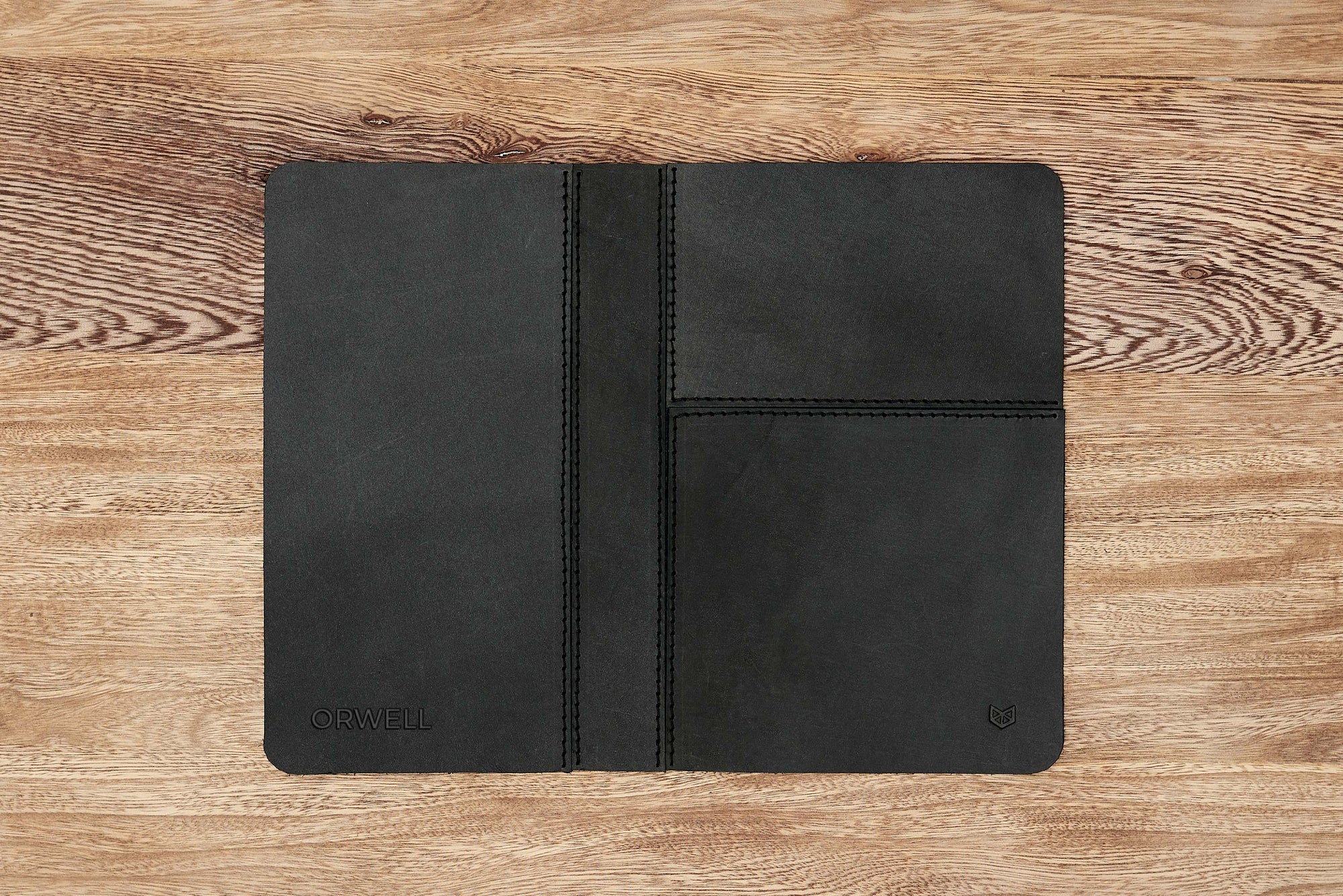 Cover. EDC Organizer Pad Black by Capra Leather