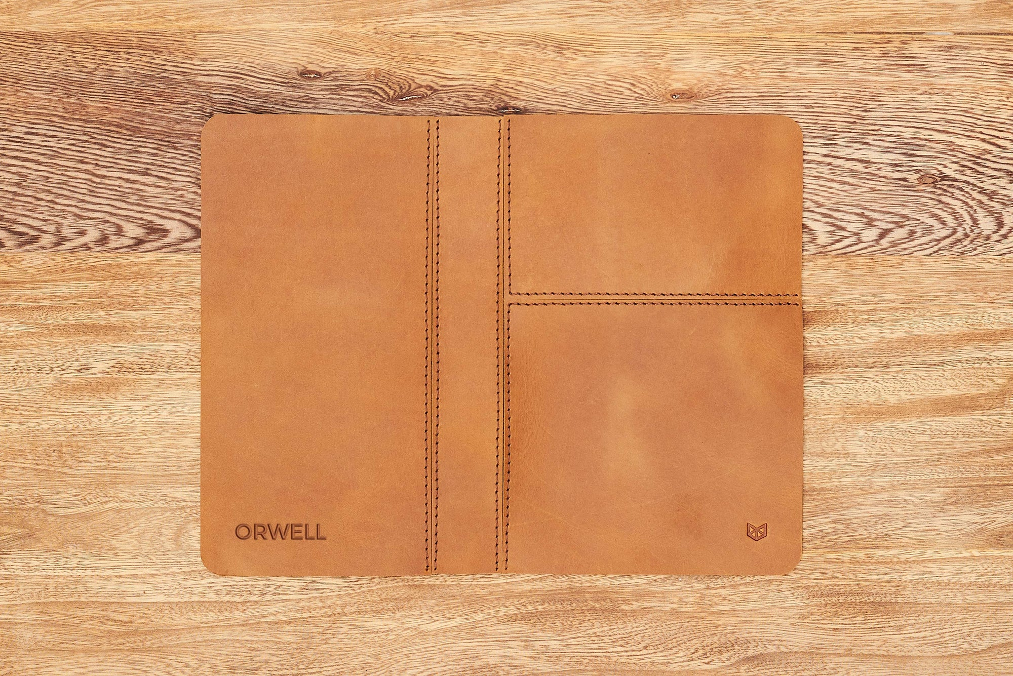 Cover. EDC Organizer Pad Tan by Capra Leather