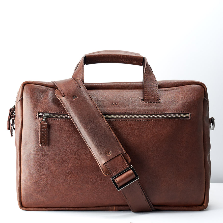Equz Messenger Bag · Tobacco