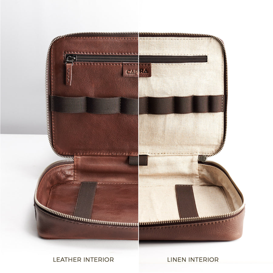 Gadget Travel Bag · Tobacco